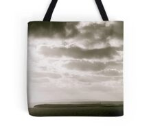 Island in Donegal, Black and White Tote Bag