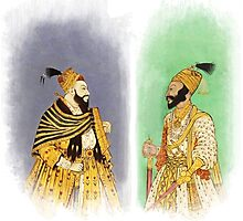 Mughal Emperors  Photographic Print
