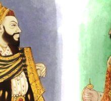 Mughal Emperors  Sticker