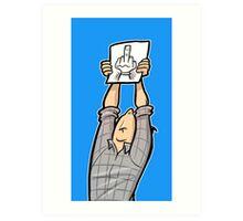 Schisslaweng - Die Meinung Art Print