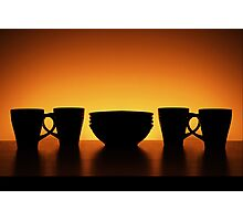Cups & Bowls Photographic Print