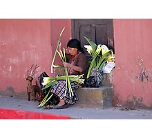 Streets of Antigua Photographic Print