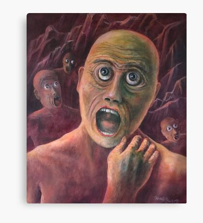 No Eyelids In Hell Canvas Print