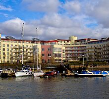 Bristol Harbour Appartments by Brian Roscorla