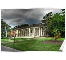 Nash Conservatory at Kew Gardens, London Poster