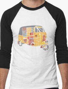 INDIAN AUTO TYPOGRAPHY Men's Baseball ¾ T-Shirt