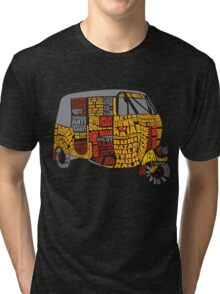 INDIAN AUTO TYPOGRAPHY Tri-blend T-Shirt