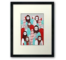 Gingerbread Spirits Framed Print