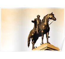 King George IV - Trafalgar Square - London Poster