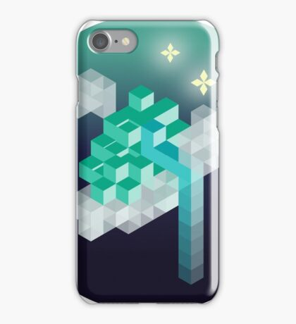 An isometric night iPhone Case/Skin
