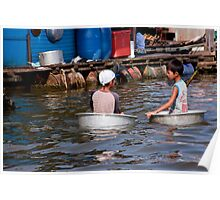 Tub Boating Poster