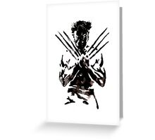 The Wolverine Greeting Card