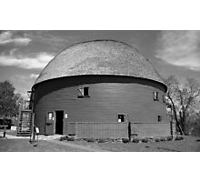 Route 66 - Round Barn Photographic Print