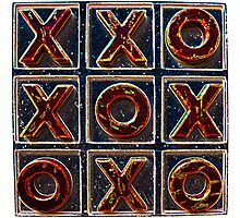 Noughts & Crosses 2 Photographic Print