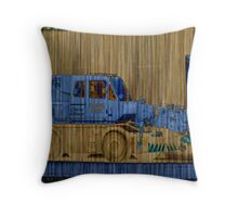 Demolision site Throw Pillow