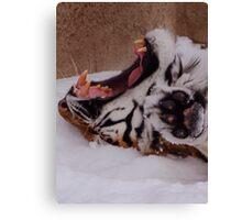 """""""Icecream Headache"""" Canvas Print"""