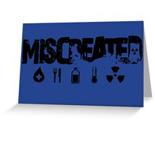 Miscreated Design 2  Blue (Official) Greeting Card