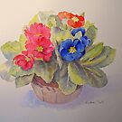 POLYANTHUS by Beatrice Cloake Pasquier