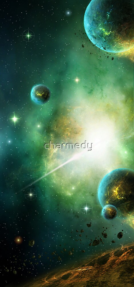 Peaceful Planet by charmedy
