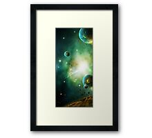 Peaceful Planet Framed Print
