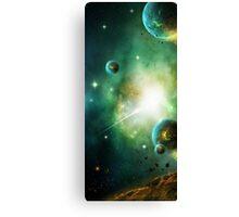 Peaceful Planet Canvas Print