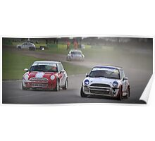 Mini Coopers  Poster