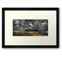 Oh So Moody! Framed Print