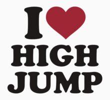 I love High jump Kids Tee