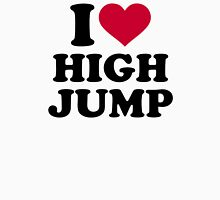 I love High jump Unisex T-Shirt