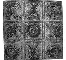 Noughts & Crosses 3 Photographic Print