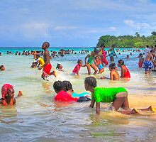 Jamaican Christmas Morning by Nigel Fletcher-Jones