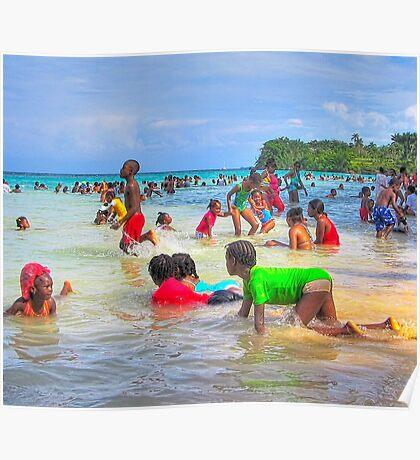 Jamaican Christmas Morning Poster