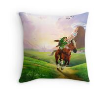 Zelda! Throw Pillow