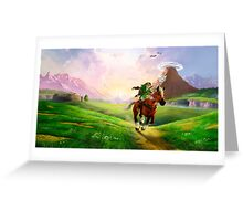 Zelda! Greeting Card