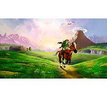 Zelda! Photographic Print