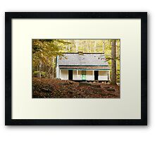 Alfred Reagan Place Framed Print