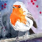 Li'l Robin Redbreast by Genevieve  Cseh