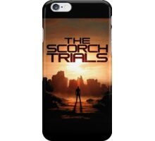 Maze Runner The Scorh Trials Book iPhone Case/Skin