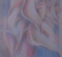 cascading calla lilies by Ellen Keagy