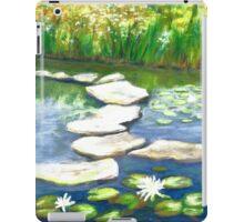 Stepping Stones at Highland Park Wetlands iPad Case/Skin