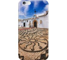 Pebbled mosaic in Tinos island iPhone Case/Skin