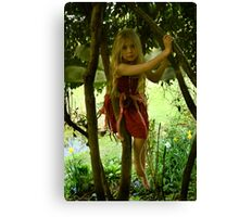 Tree Fairy Canvas Print