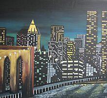 NYC by Dawn  Hawkins