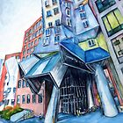 Stata Center, MIT, Boston by Genevieve  Cseh