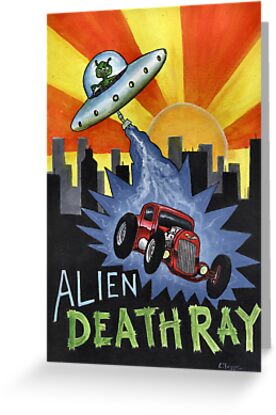 Alien Death Ray by Lee Twigger