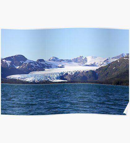 Glacial Wilderness Poster