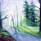 Misty Morning by Genevieve  Cseh