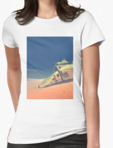 Dune walker Womens Fitted T-Shirt