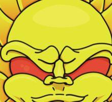 Mean Sun Sticker