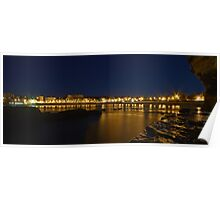 Coogee Bay by Night Poster